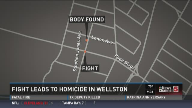 Fight leads to homicide in Wellston