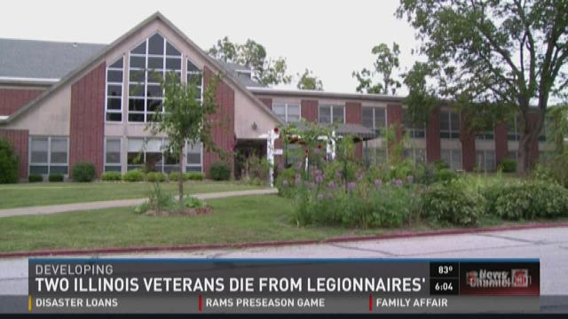 Two Illinois veterans die from Lefionnaires'