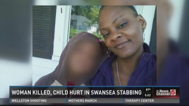 Woman killed, child hurt in Swansea stabbing