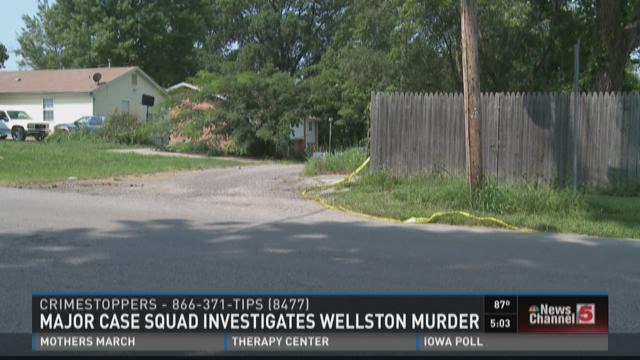 Major Case Squad investigates Wellston murder