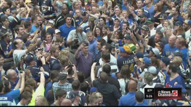 Hundreds gather for Blues Icebreaker