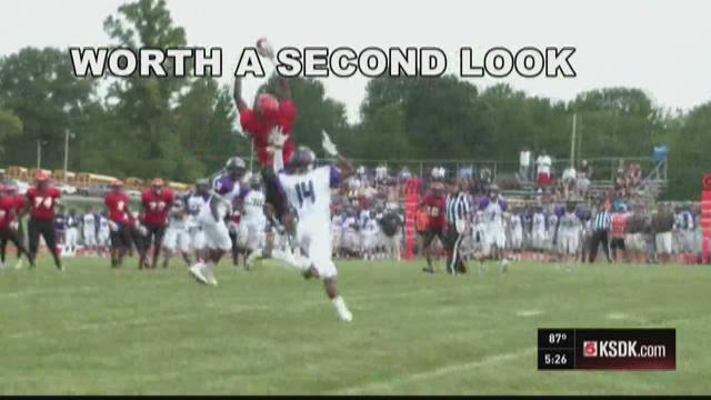 McCluer's Terrance Davis makes amazing catch