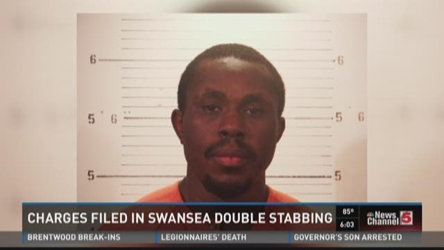 Charges filed in Swansea double stabbing