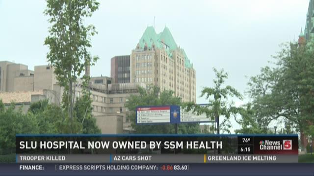 SLU Hospital now owned by SSM Health