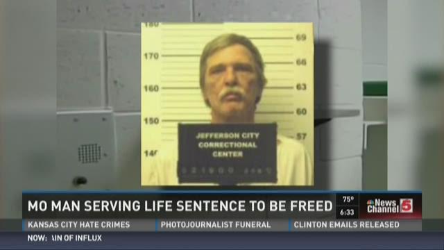 MO man serving life sentence to be freed