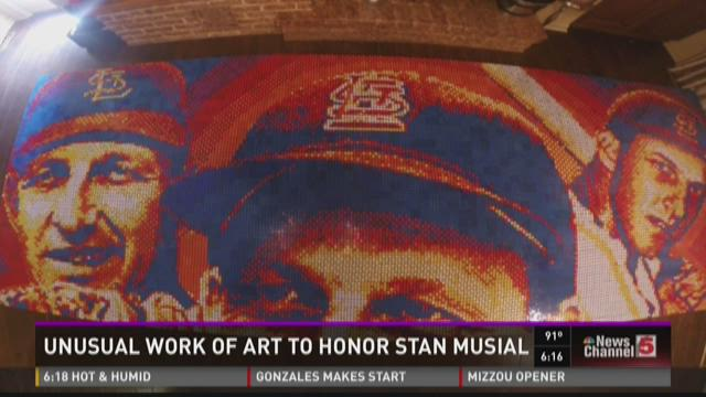 Unusual work of art to honor Stan Musial