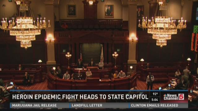 Heroin epidemic fight heads to state capitol