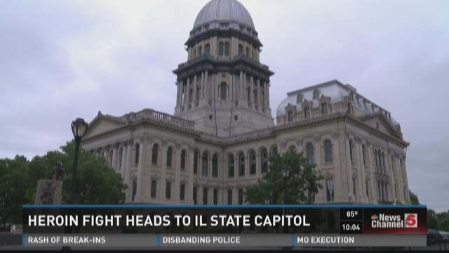 Heroin fight heads to Ill. state capitol