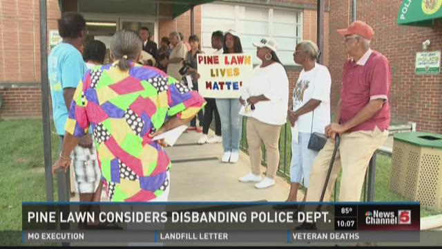 Pine Lawn considers disbanding Police Department