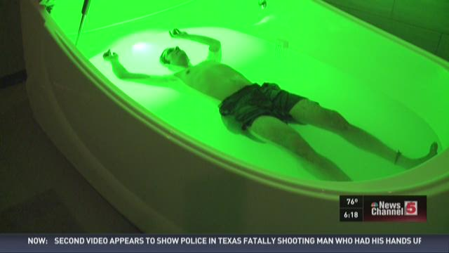 New spa promises to float your stress away