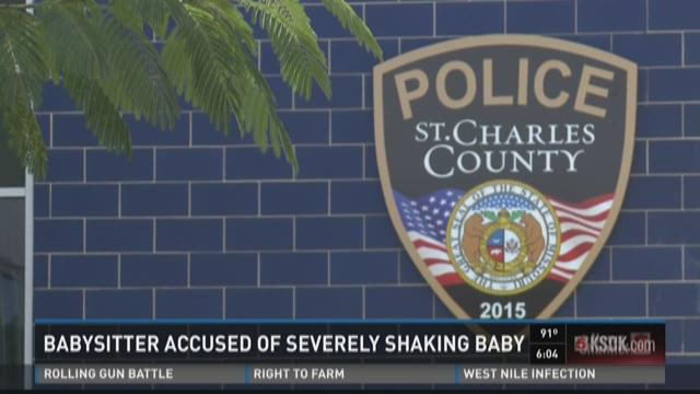 Babysitter accused of severely shaking baby