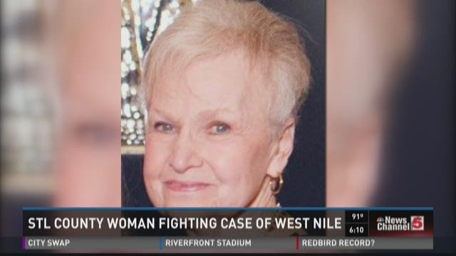 STL County woman fighting case of West Nile
