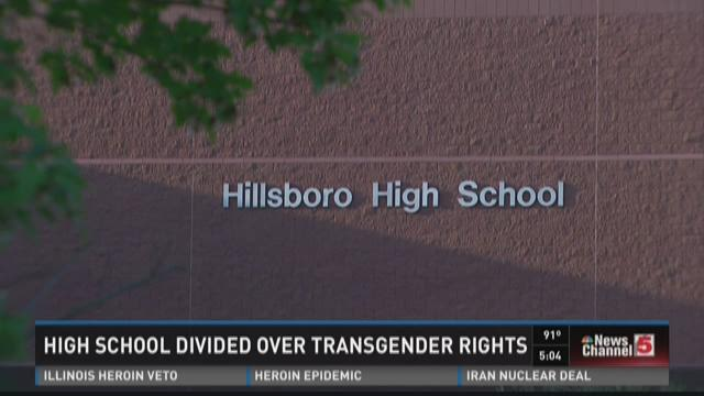 High School divided over transgender rights