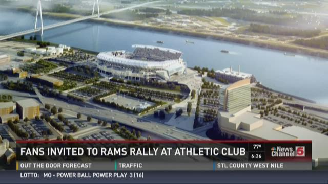 Fans invited to Rams rally at Athletic Club