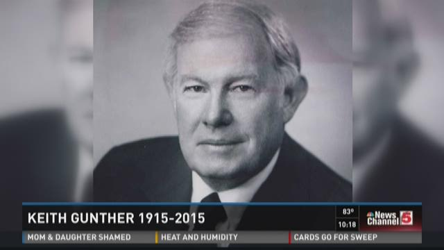 Keith Gunther 1915-2015