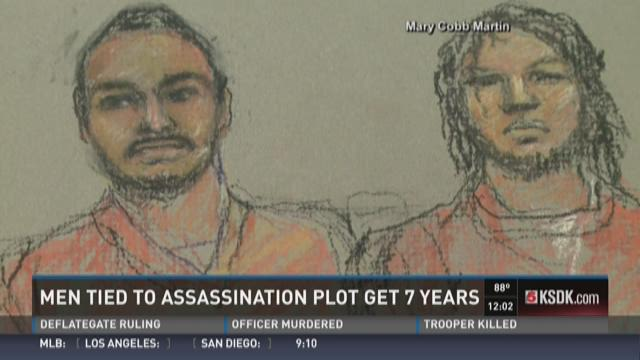 Men tied to assassination plot get 7 years