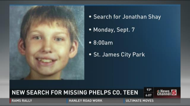 New search for missing Phelps County teen
