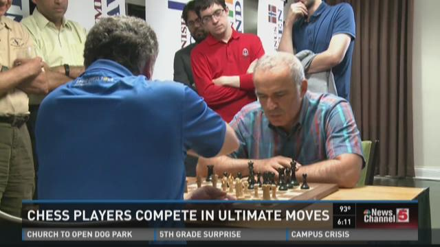 "Chess players compete in ""Ultimate Moves"""