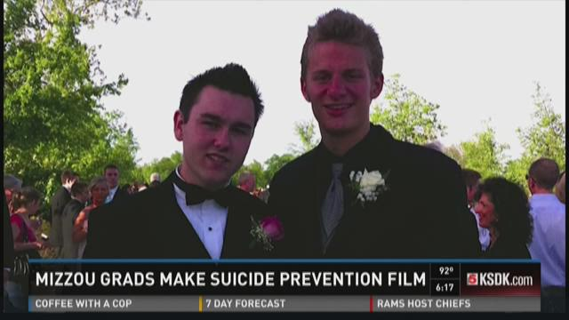 Mizzou grads make suicide prevention film