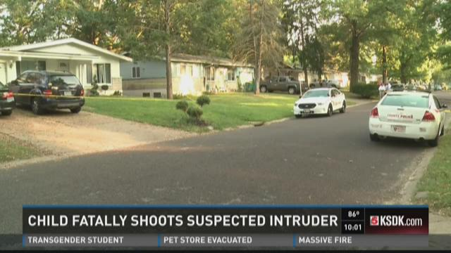 Child fatally shoots suspected intruder