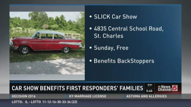 SLICK Car Show on Sunday for BackStoppers video
