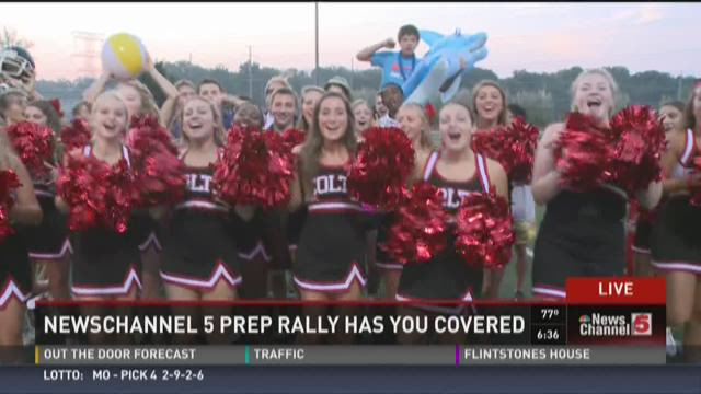 Prep Rally at Parkway Central