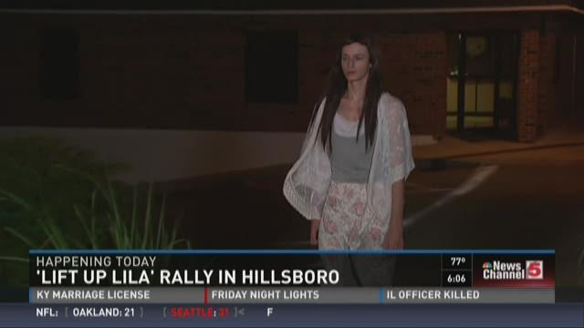 'Lift up Lila' rally in Hillsboro