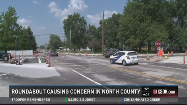 Roundabout causing concern in North County