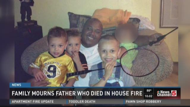 Family mourns father who died in house fire