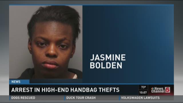 Two dozen purses stolen from Kate Spade Store