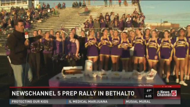 NewsChannel 5 #5PrepRally in Bethalto 6pm