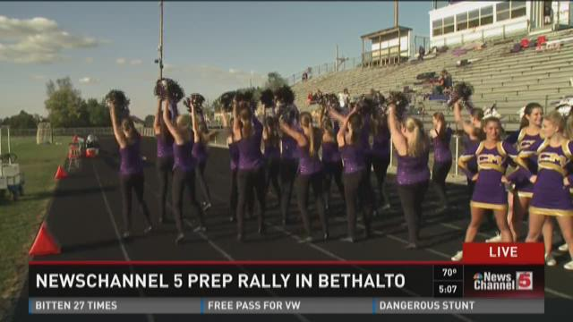 NewsChannel 5 #5PrepRally in Bethalto 5pm