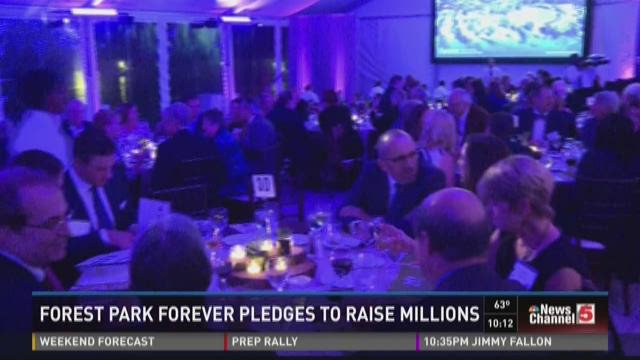 Forest Park Forever pledge to raise millions