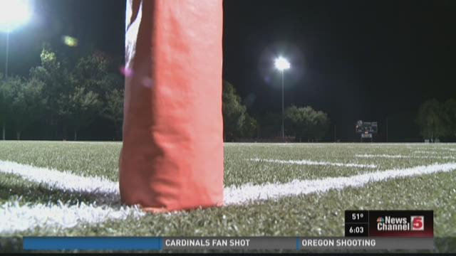Gunfire interrupts high school football game