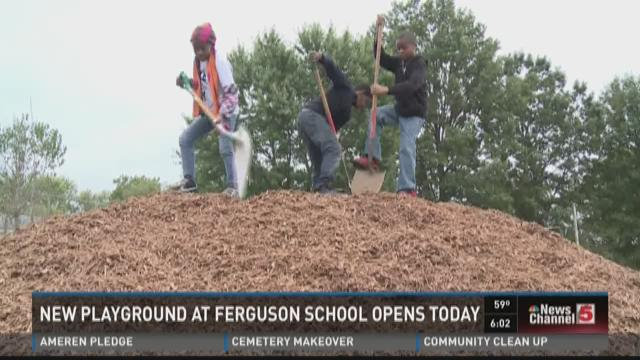 New playground at Ferguson school opens today
