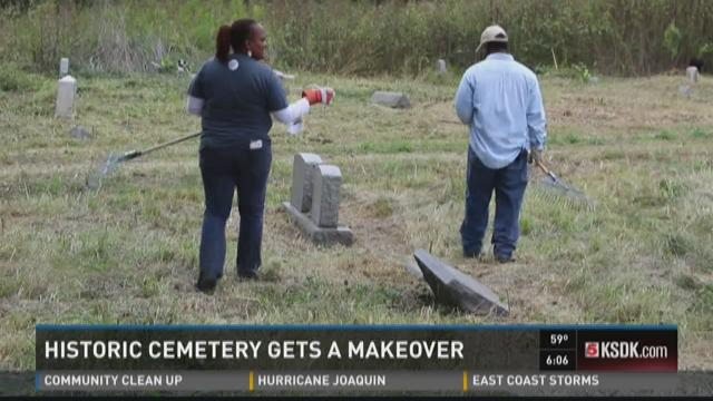 Historic cemetery gets a makeover
