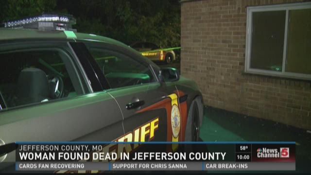 Woman found dead in Jefferson County