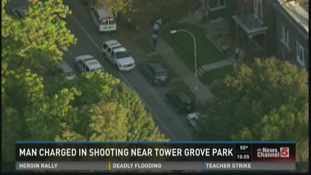 Man charged in shooting near Tower Grove Park
