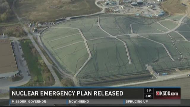 Nuclear emergency plan released