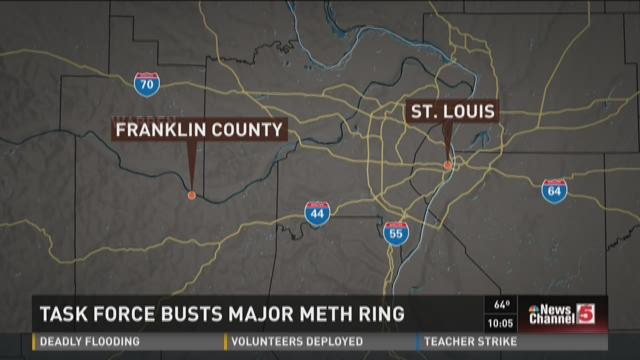 Task force busts major meth ring