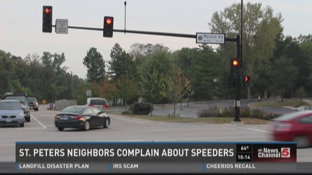 St. Peters neighbors complain about speeders