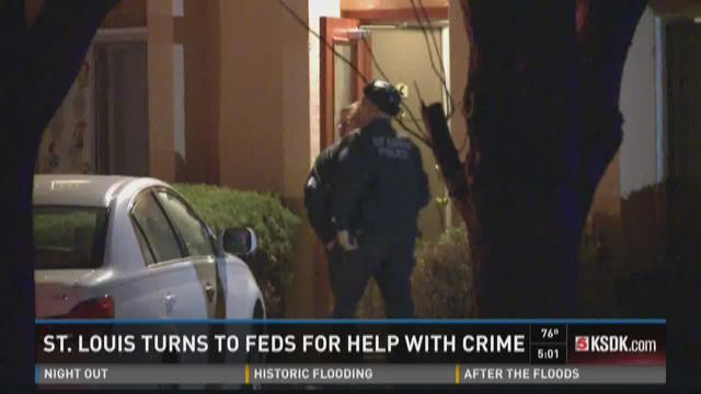 St. Louis turns to feds for help with crime
