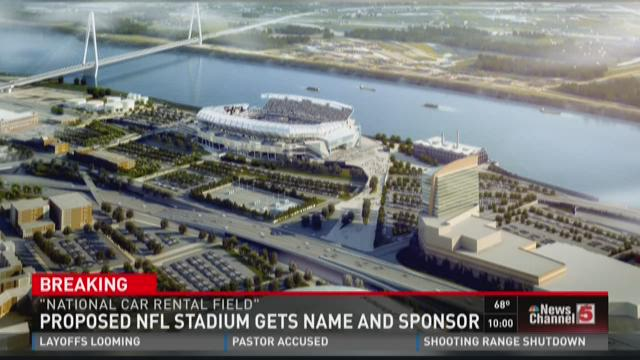 Proposed NFL Stadium gets name and sponsor