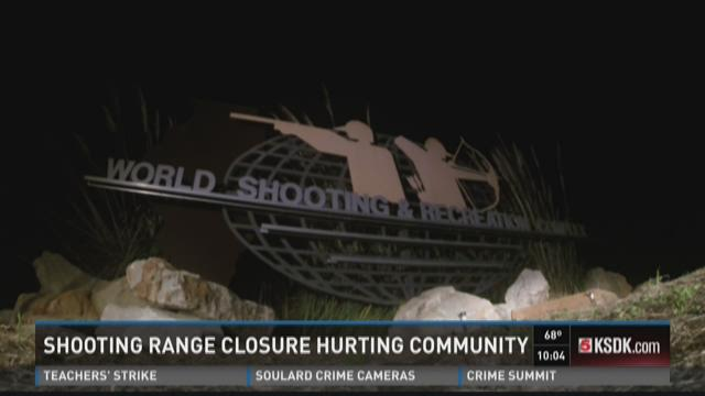 Shooting range closure hurting community