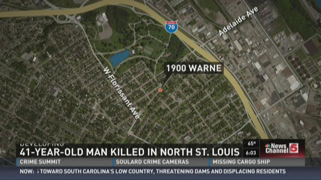 41-year-old man killed in north St. Louis