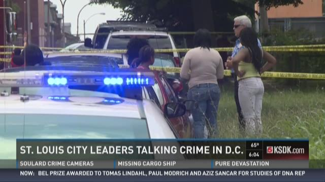 St. Louis city leaders talking crime in D.C.