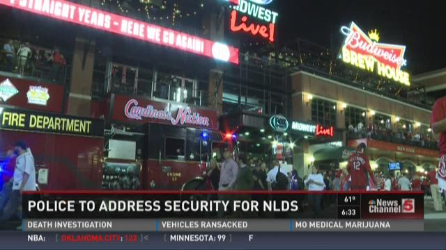 Police to address security for NLDS