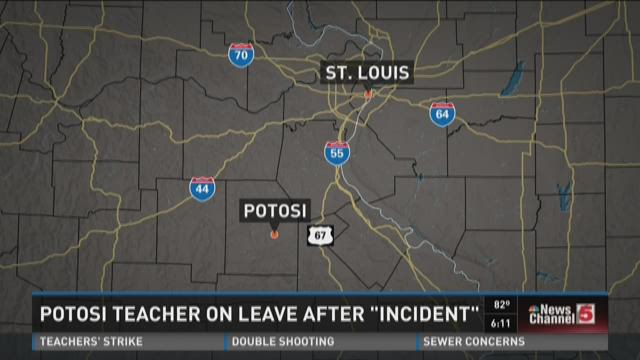 Potosi teacher on leave after 'incident'