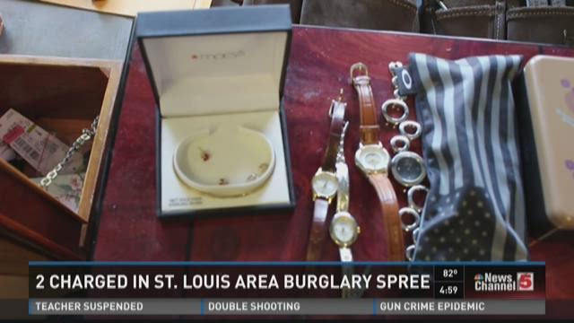 Burglary theft ring