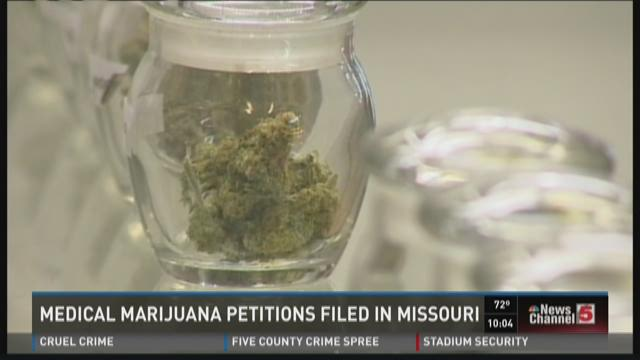 Medical marijuana petitions filed in Missouri